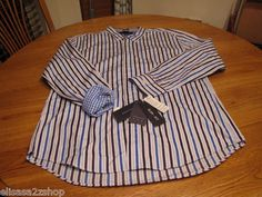 Men's Tommy Hilfiger XL slim fit shirt long sleeve court purple 543 7825971 NEW  1