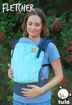 Canvas - Tula Release 'Fletcher' TULA BABY CARRIER; released 1 May 2015