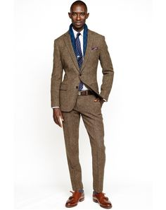 A New Breed of Tweed: In fifty shades of anything but gray. Suit up for the office or break it down as sport coat with jeans or pair the tro...
