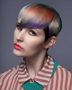 Goldwell Color Zoom Finalists 2013 | See more on www.salonmagazine.ca | New Talent Finalist: Jordi Schonwetter, Milica SalonSpa, Langley, BC