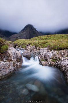 The Fairy Pools, Glen Brittle, Isle of Skye by Tonnaja Anan Charoenkal