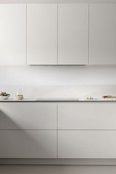French Home Decor .French Home Decor Minimal Kitchen Design, Minimalist Kitchen, Interior Design Kitchen, Interior Modern, Interior Paint, Modern Minimalist, Home Decor Kitchen, Home Kitchens, Modern Kitchens
