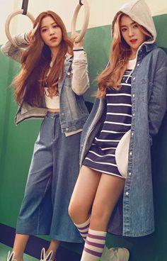 "Red Velvet Rocks 2016 Spring/Summer Collection from Chinese Brand ""Meters/bonwe"" | Koogle TV"