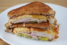 The next time you're in the mood for something a little different or just don't want to take the time to fire up the grill, give this Canadian Bacon Turkey Melt Recipe a try. Description from cullyskitchen.com. I searched for this on bing.com/images