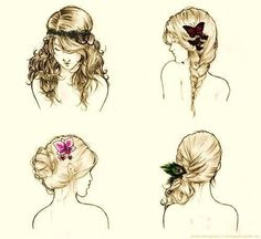 Will these hairstyles look good in real life hair?