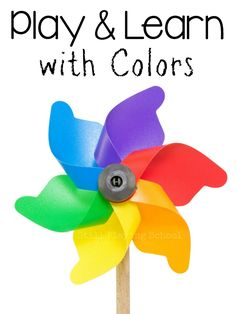 Still Playing School: Play & Learn with Colors