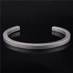 Bohemian Bracelets, Bracelets For Men, Fashion Bracelets, Bangle Bracelets, Bangles, Valentines Jewelry, Valentine Gifts, Mens Sterling Silver Necklace, Couple Jewelry