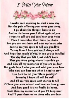 In loving memory/card/keepsake/Grave/mum/nan/auntie for any relative in Home, Furniture & DIY, Celebrations & Occasions, Memorials & Funerals Daughter Quotes, Mother Quotes, Mom Quotes, Mom Sayings, Life Quotes, Mom In Heaven Quotes, Mother's Day In Heaven, Mom I Miss You, Mom Poems
