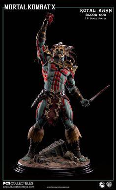 Kotal Kahn 'Blood God' Statue by Pop Culture Shock [Mortal Kombat X]
