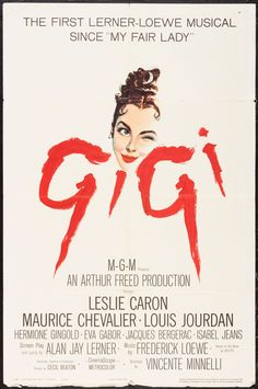 """""""GIGI"""" 1958"""