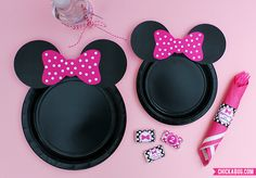 Minnie y Mickey Mouse, fiesta infantil - Dale Detalles Mini Mouse Baby Shower, Baby Mouse, Mouse Ears, Minnie Birthday, 2nd Birthday Parties, Birthday Ideas, Minnie Y Mickey Mouse, Mouse Parties, Bow