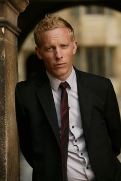Laurence Fox. I find him to be unconventionally handsome. His voice is so deep and wonderful. Billie Piper is one lucky girl!