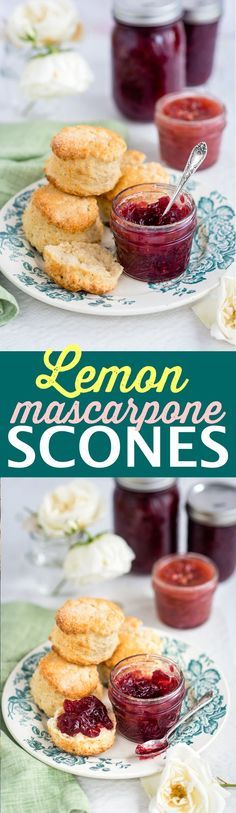 Heavenly soft and subtly fragrant lemon scones, perfect for afternoon tea.
