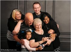 Family portraits of generations in studio wearing black and white_0192.jpg