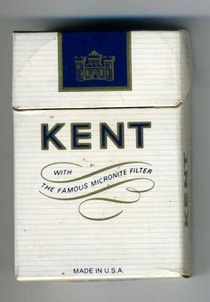 #hearingtheirvoices - Kent cigarettes with the 'micronite filter' containing asbestos
