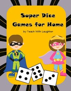 Dice Games for Home FREEBIE