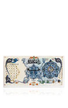The qatar clutch, c. 1976 by PRECIOUSLY PARIS for Preorder on Moda Operandi