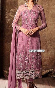 Purple Crinkle Chiffon Suit   Buy Pakistani Fashion Dresses and Clothing Online in USA, UK Pakistani Dresses Online Shopping, Pakistani Formal Dresses, Online Dress Shopping, Pakistani Designer Clothes, Pakistani Designers, Indian Designer Outfits, Designer Party Dresses, Ladies Dress Design, Dress Making