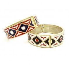 Tribal Aztec Hand Cuff (2 Colors!)