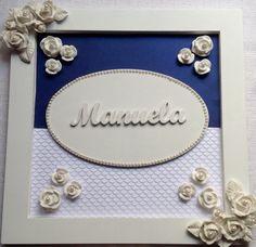 QUADRO MATERNIDADE - Manuela Flores