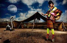 "Mario Testino for British Vogue: ""High Plains Drifter"""