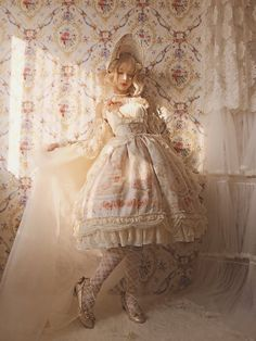 This Time -My First Love- Sweet Classic Lolita JSK Version I