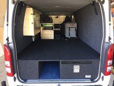 VAN FITOUTS - VAN SYSTEM #9 - Drifta Camping & 4WD Tiny Camper Trailer, Bus Camper, Campers, Van Conversion Interior, Camper Van Conversion Diy, Truck Camping, Van Camping, Campervan Interior, Campervan Ideas