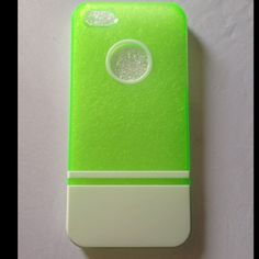 White & Green iPhone 5 Case