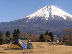 富士山朝霧高原「田貫湖キャンプ場」