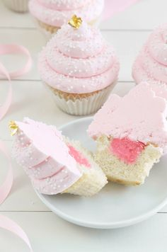 Pink Champagne and Gold Leaf Layer Cake and Cupcakes A Collection of the Best Cupcakes Blogs. Get the Top Stories on Cupcakes in your inbox