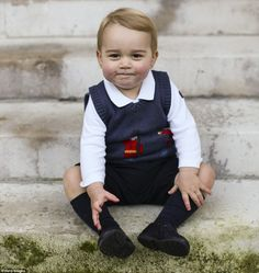 Prince William recently revealed George loves to play with his parents' iPad. Here he is p...
