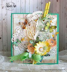 Любимое хобби.: Весенняя Пасхальная открытка. AltairArt DT