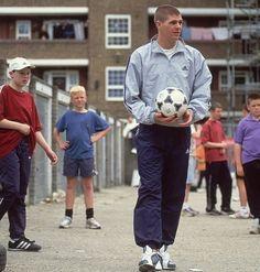 Stevie G, Steven Gerrard, Football, Soccer, Futbol, American Football, Soccer Ball