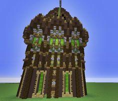 The building's dark Minecraft Project