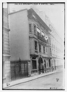 Photo: Mrs. W.K. Vanderbilt's house -- a hospital,Paris,France,Bain News Service HistoricalFindings