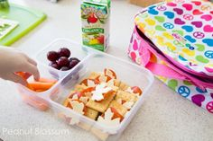 30 days of lunchbox recipes: No Repeats! » Peanut Blossom