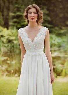boho chic wedding dress (06) | Trendy Boho, Vintage, Gypsy ...