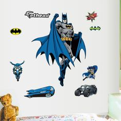 wallartkids.com batman wall stickers #stickers