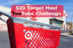 20 dollar target haul YouTube Challenge