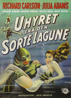 Poster - Creature From the Black Lagoon_20.jpg 2,118×2,896 pixels