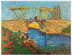 Vincent van Gogh - Die Brücke von Arles