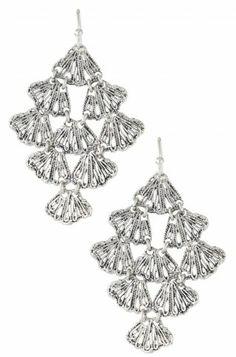 Stella & Dot Geneve Lace Earrings