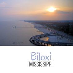 Biloxi Mississippi - Beautiful Travel Postcards