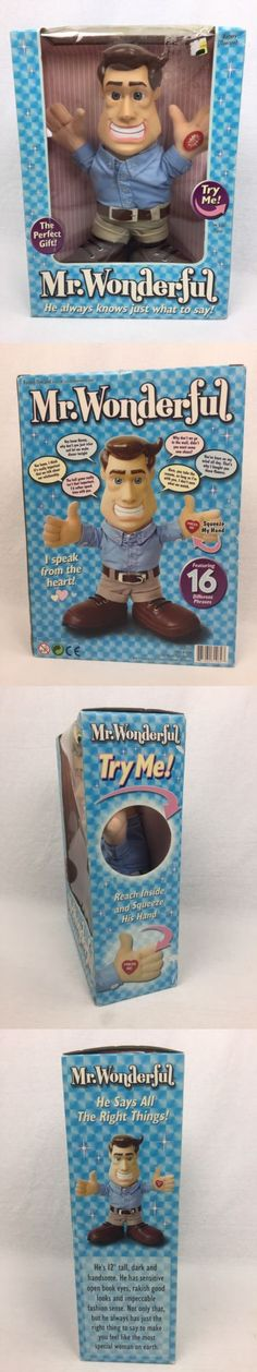 Talking Toys 145945: Mr. Wonderful 12 Plush Talking Doll 16 Phrases 2003 Positive The Perfect Gift -> BUY IT NOW ONLY: $35.99 on eBay!