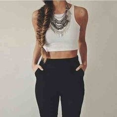 Image via We Heart It https://weheartit.com/entry/155982735 #beautiful #beauty #black #clothes #cool #fashion #girl #girly #grunge #hair #hipster #long #moda #neklace #outfit #pretty #style #vintage #swag #instagram