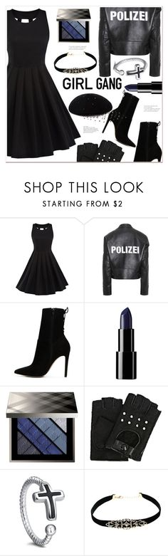 """Girl Gang"" by mycherryblossom ❤ liked on Polyvore featuring Vetements, ALDO, Burberry, Karl Lagerfeld, Victoria Grant and vintage"