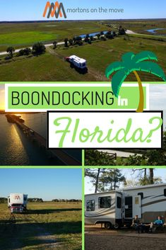 Free or cheap boondocking in Florida! Wild or dry camping in one of the most popular winter RV locations in the country. Discover the real Florida and save money staying at these Wildlife Management Area (WMA) and Water Management District (WMD) locations Rv Camping Tips, Camping Spots, Camping Checklist, Family Camping, Tent Camping, Outdoor Camping, Backpacking Gear, Hiking Gear, Walmart Camping