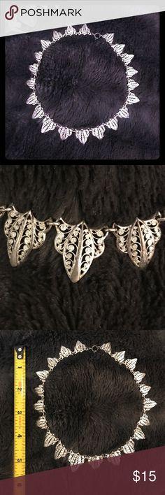 Vintage necklace Vintage silver colored Art Deco? necklace.  Beautiful! Jewelry Necklaces