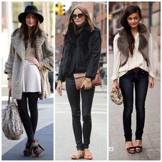 tendencias outono inverno 2015 faux fur peles