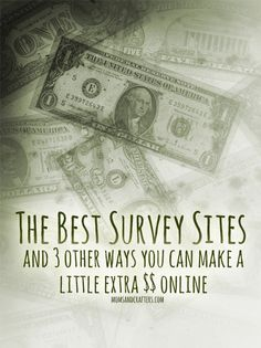 A comprehensive review of the best survey sites, cash back, search engine rewards, and other ways you can earn a little extra on the side.